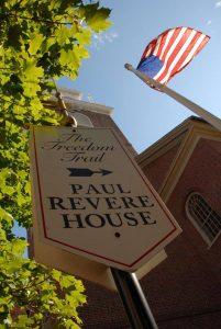Paul Revere Signage