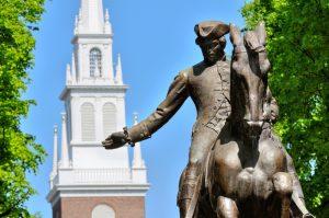 Paul Revere Statue